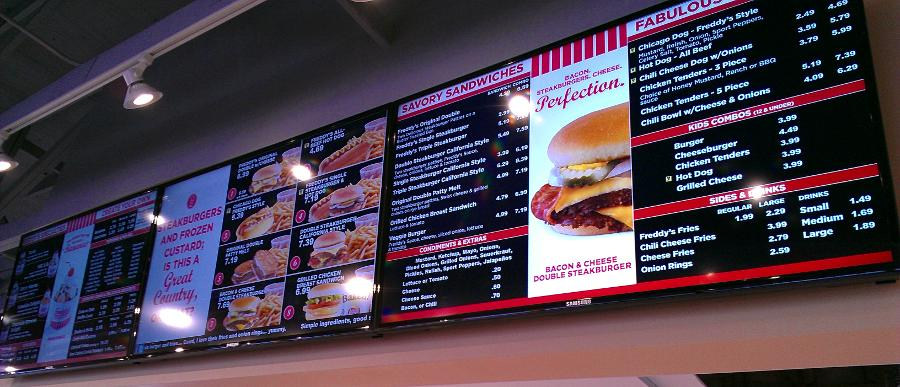 Digital Signage and Menu Board Clarksville, TN